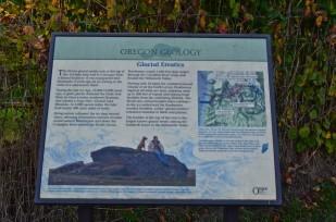 Glacial Erratic Rock Historical Marker