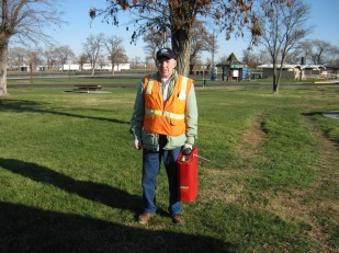 Jim Pettyjohn, relief supervisor at the Boardman rest area