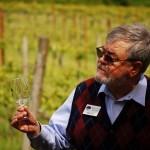 Dennis Devine, owner of the Witness Tree Vineyard (photo taken by Paul Reis)