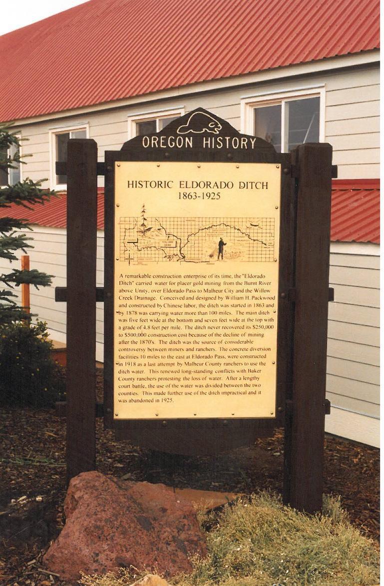 Eldorado Ditch Oregon Travel Experience