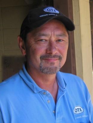 Image of Curtis Smith, Baldock rest area technician