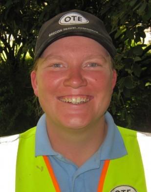 Image of Baldock rest area technician Dani Hawthorne