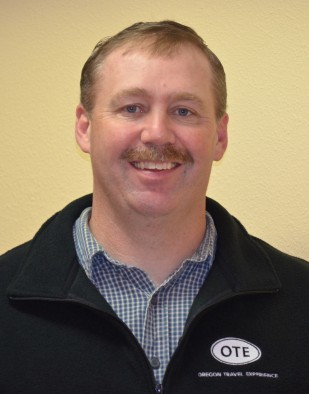 Jason Nash is OTE's Rest Area Operations Manager