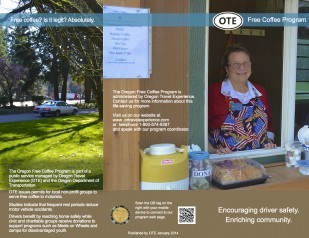 OTE Free Coffee Program brochure