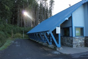 Photo of OTE supervised rest area chalet building at Government Camp.