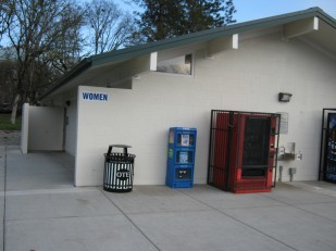 Image of clean and supervised OTE highway safety rest area