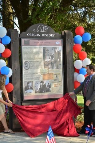 Abigail Scott Duniway historical marker