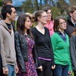 OSU choir sings almamater