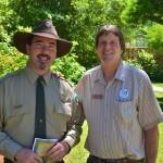 Ranger Preson Philips and Craig Leech.