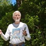 David Bridgham, Friends of Shore Acres Board of Directors gives a talk.