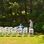 George Forbes and Richard Engeman of the Oregon Historical Marker Committee attended the event.
