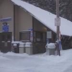 Government Camp had plenty of snow too.