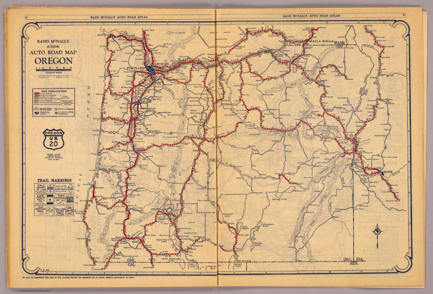 Summer Travels And Oregon Rest Areas Oregon Travel Experience - Map of oregon highways