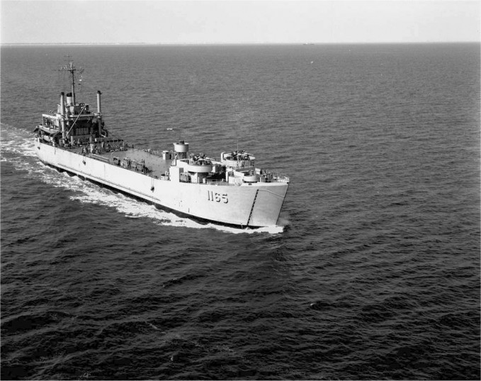 LST 1165, Mike Drennan's ship