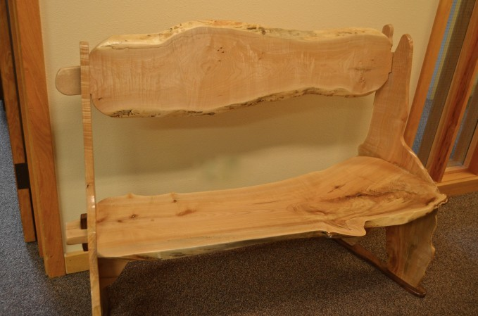 Oregon Travel Experience Heritage Tree Program Peter McDonald Memorial Bench