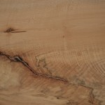 Image Detail of wood grain on Oregon Heritage Tree memorial bench created for Peter McDonald