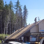 Government Camp new roof