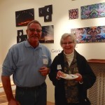 OTE's Dave Schrom with Tillamook Mayor Suzanne Weber