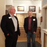 State Representative David Gomberg and Tillamook Commissioner Bill Baertlein