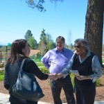 Image of Oregon Travel Experience staff at Joel Perkins Park Historical Marker Dedication in 2015.