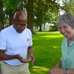 Image of the Oregon Travel Information Council members, Ed Washington and Charlotte Lehan