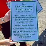 Leadership sponsor sign