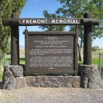 The Fremont Marker following its restoration.