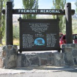 The Fremont Memorial Marker was two-sided, which makes the final results doubly impressive!